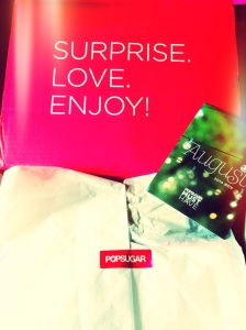 POPSugar Must Have Box Review - August 2014