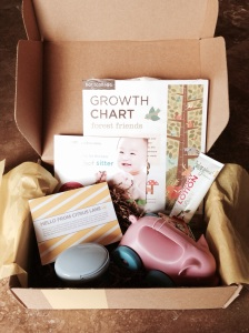 Citrus Lane Box Review - 10 Mo - August 2014
