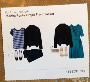 Stitch Fix Review - September 2014