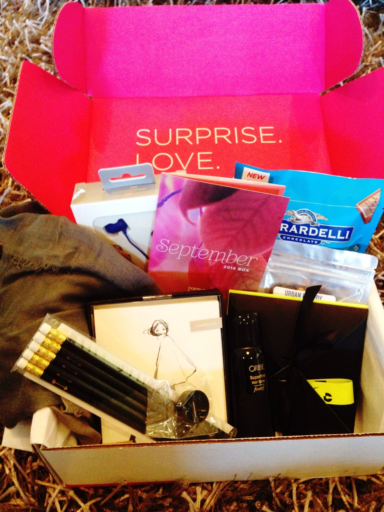 POPSugar Must Have Box Review - September 2014