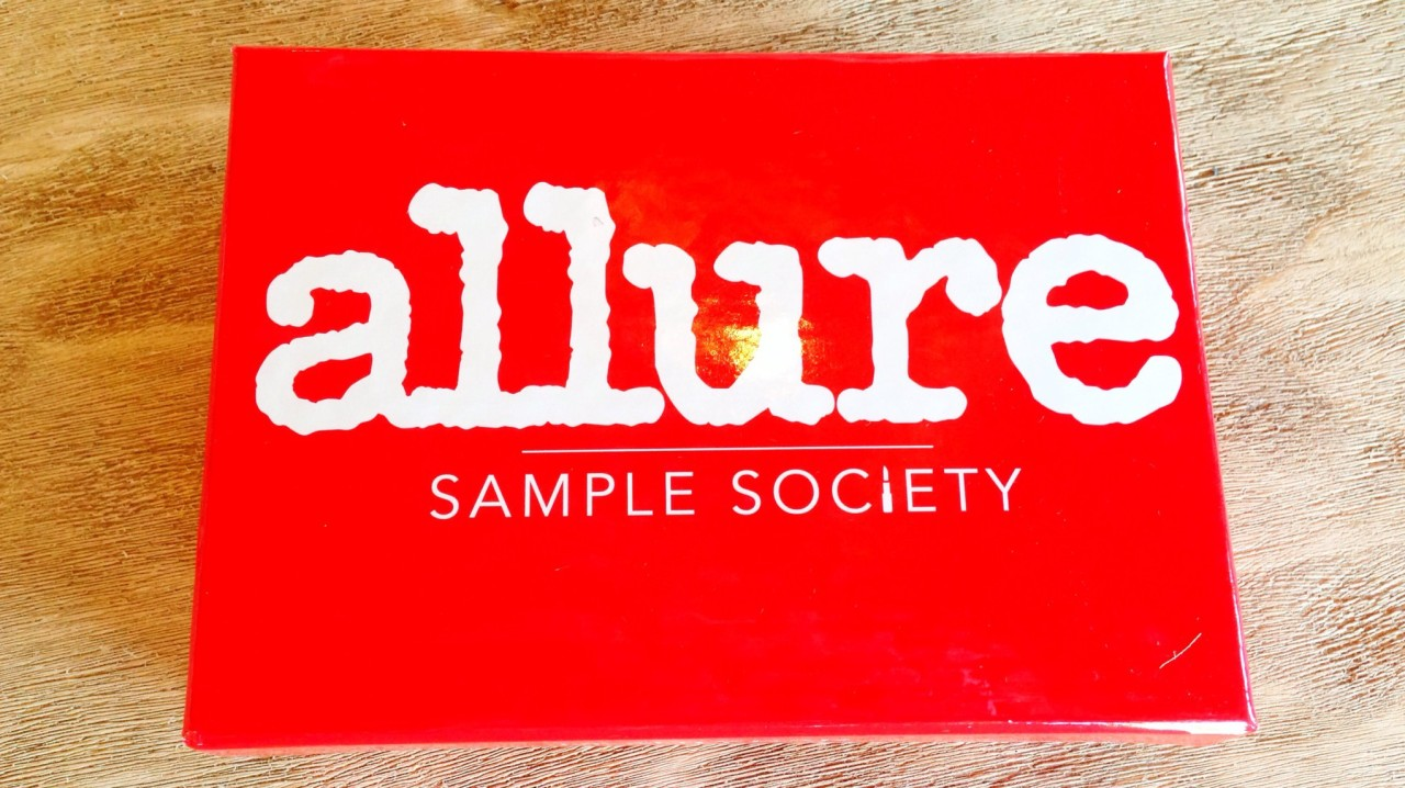 Allure Sample Society Subscription Box Review - September 2014